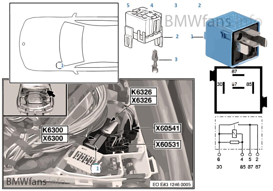 relais dme k6300 bmw x3 e83 x3 n46 l 39 europe. Black Bedroom Furniture Sets. Home Design Ideas