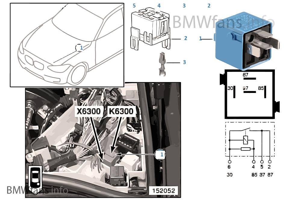 Relais DME-MS43 K6300