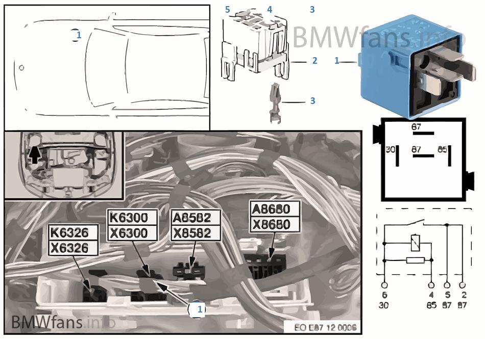 relay dme k6300 bmw 1 39 e87 118i n46 europe. Black Bedroom Furniture Sets. Home Design Ideas