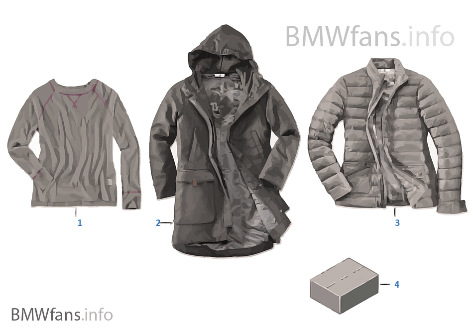 BMW Coll. Women's jackets/jumpers 16-18