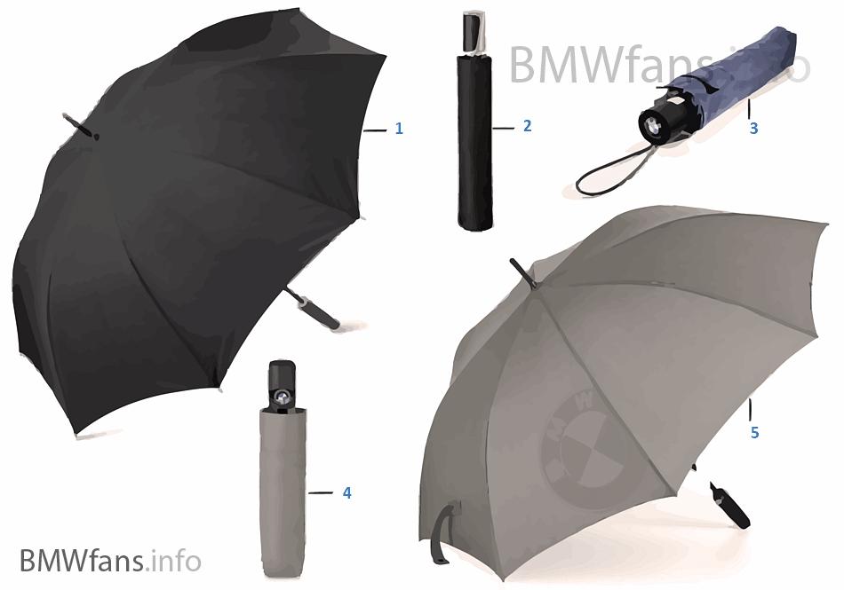 BMW Coll. deštníky 2014-16, 2016-18