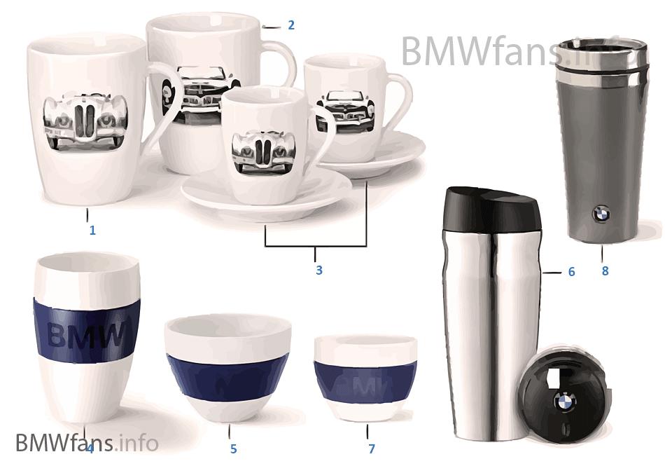 BMW Coll. - ถ้วย/แก้ว 14-16, 16-18