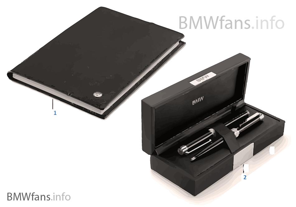 BMW Iconic — Письмен.принадлежн.16-18