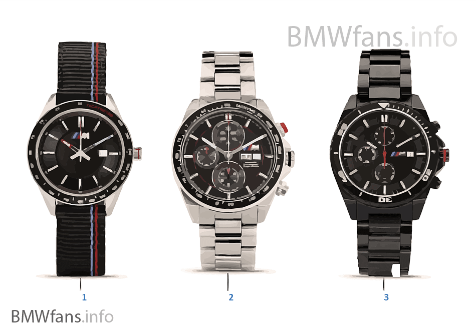Bmw M Collection Horloges 16 18 Bmw Accessories Catalogus