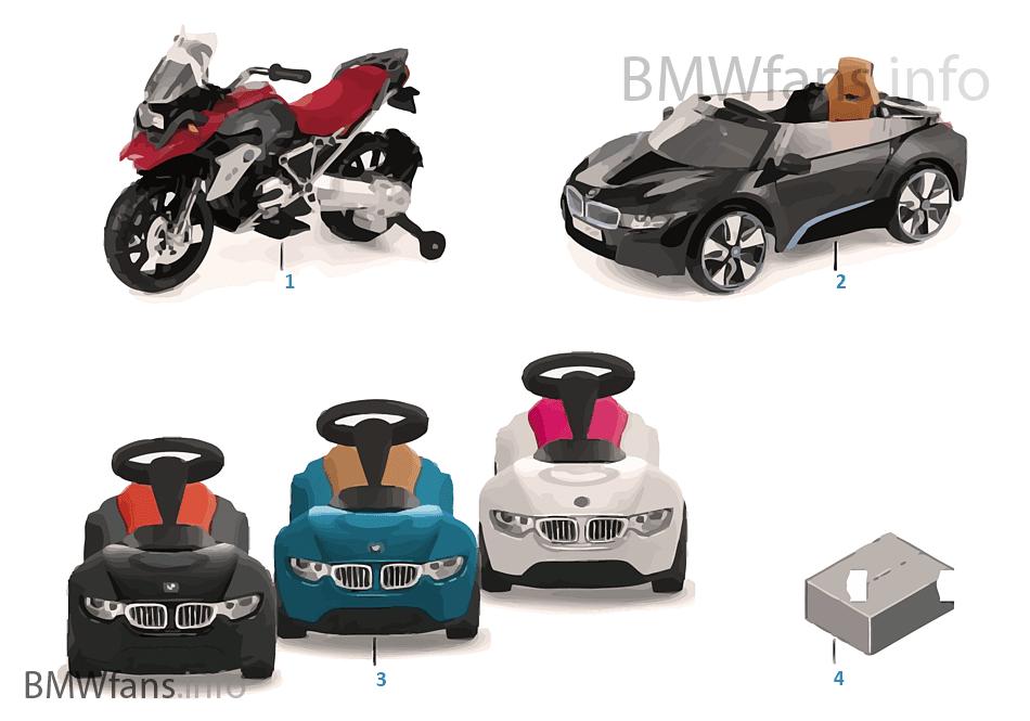 BMW děti — Vozidla 16-18
