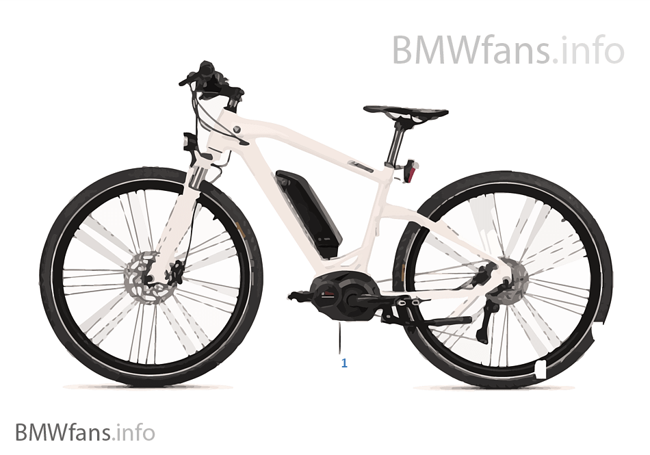 BMW Bikes & Equipment eCruise Bike 16-18