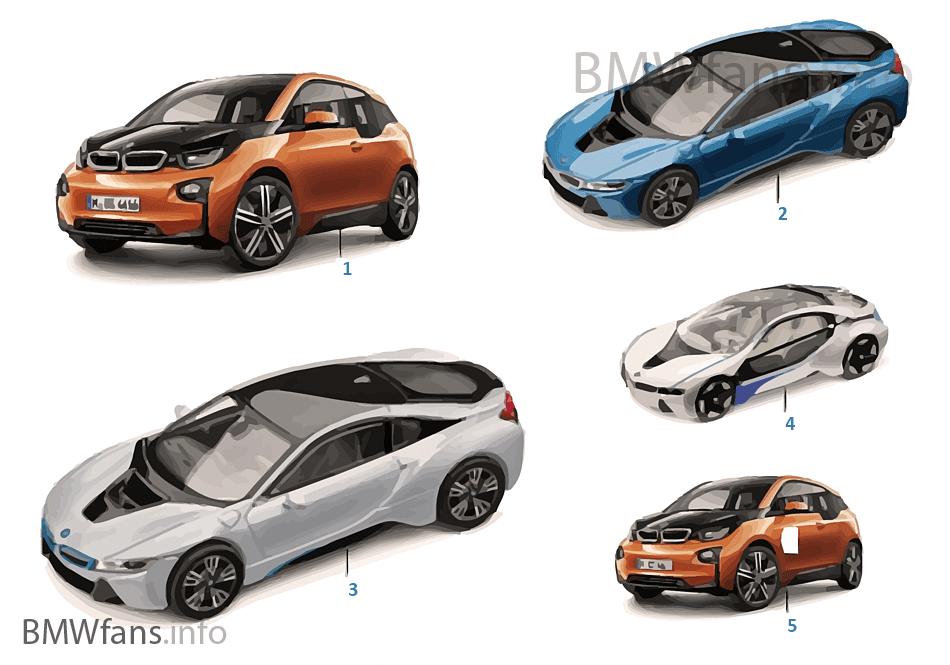Миниат.модели BMW — BMW i Vision 14/16