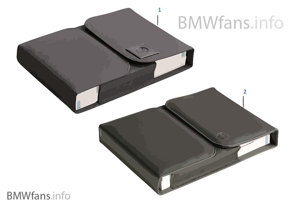 Футляр для бортового журнала BMW