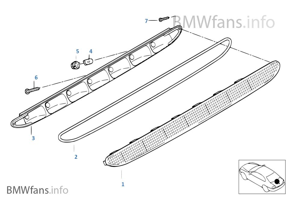 1997 bmw z3 parts catalog
