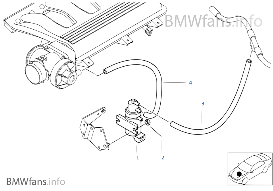 bmw e39 vacuum diagram
