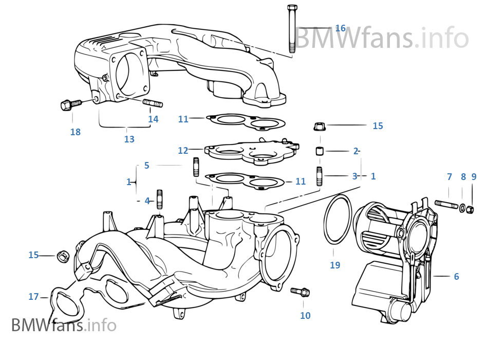 parts for a 1997 bmw 318
