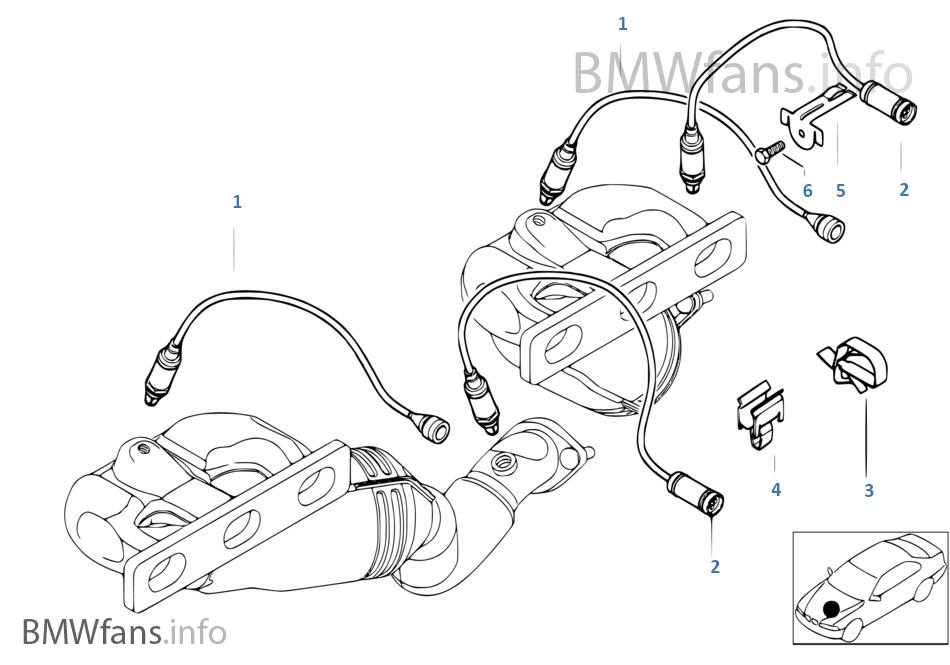 lambdasonde anbauteile bmw 3 39 e46 320ci m54 europa. Black Bedroom Furniture Sets. Home Design Ideas