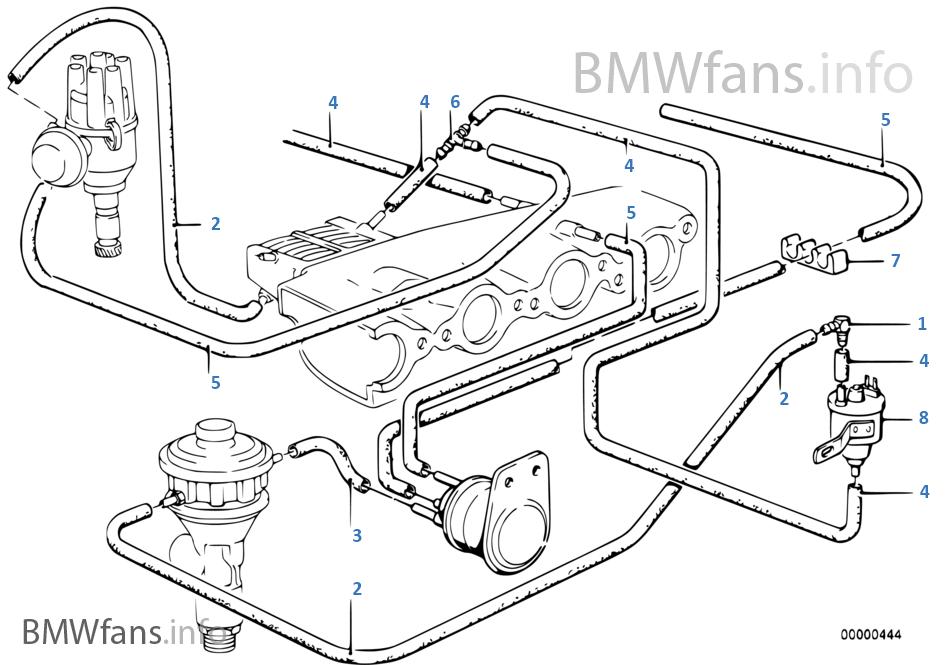 bmw e28 vacuum diagram