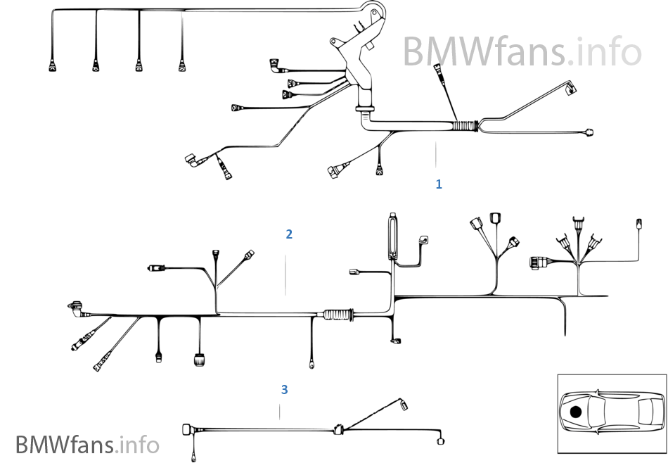 j8v engine wiring harness bmw 3' e46 318i m43 europe Wiring Harness Diagram at gsmx.co