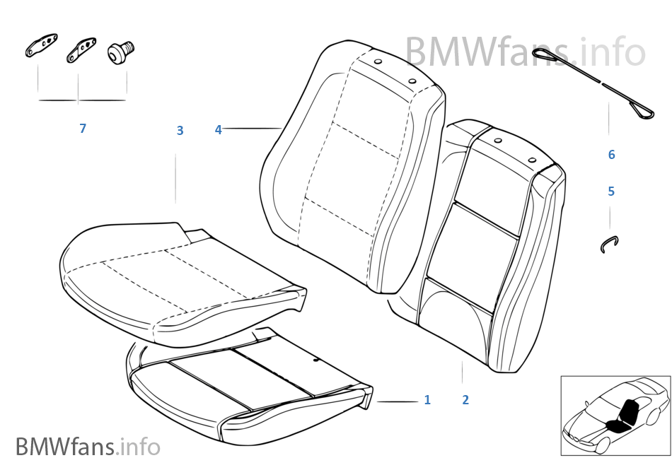 Cover Comfort Seat