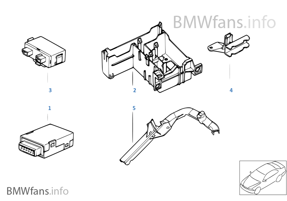 EWS Sterownik/Moduł SE/Uchwyt