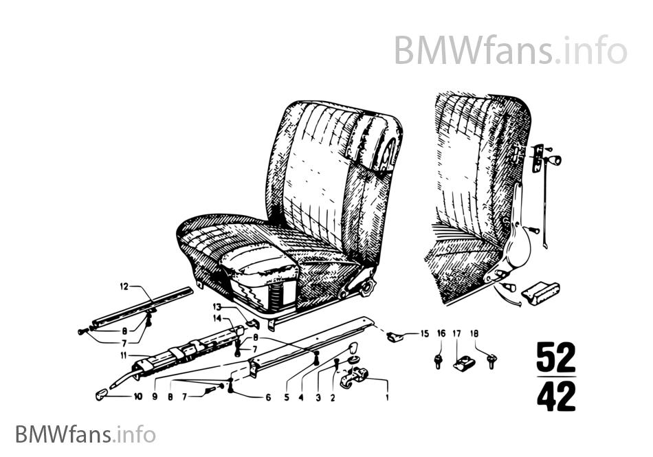 SEAT RAIL