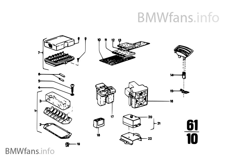 fuse box diagram bmw 2002 tii bmw 2002 tii horn relay