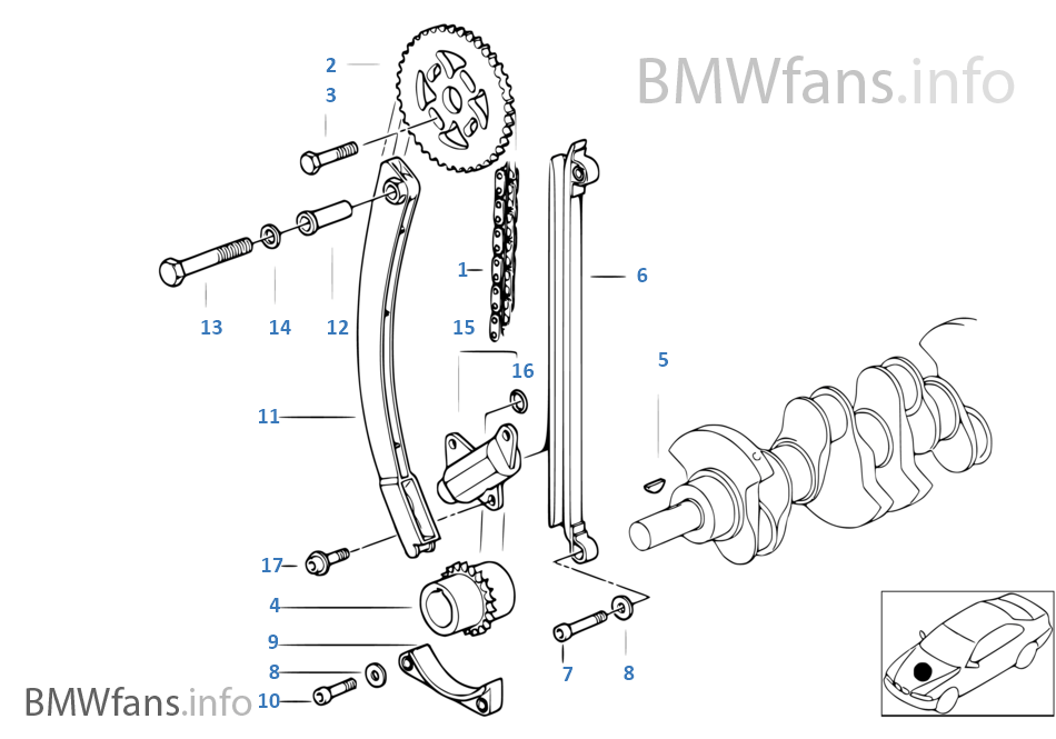 bmw timing diagram