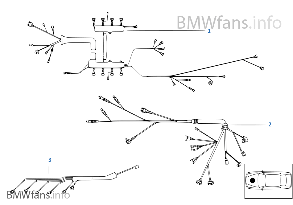 engine wiring harness bmw x5 e53 x5 3 0d m57 europe rh bmwfans info subaru engine wiring harness diagram engine wiring harness definition
