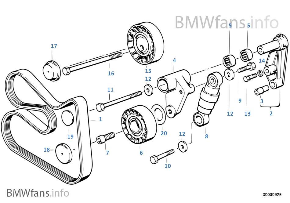 ps belt drive water pump alternator bmw 3' e36 323i m52 europe e36 alternator wiring diagram at gsmportal.co