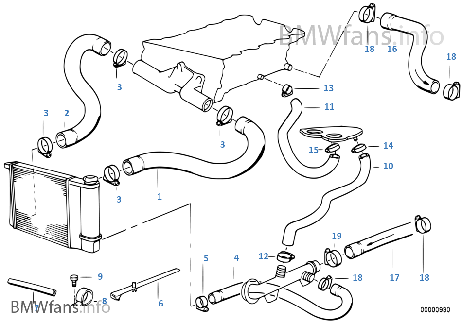 Bmw E36 Engine Cooling System Bmw Free Engine Image For User Manual Download