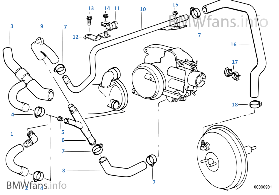 98 bmw 740i engine diagram