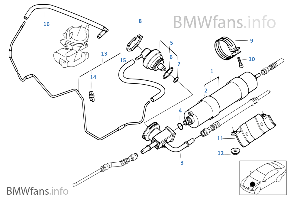 Fuel Filter Pressure Regulator