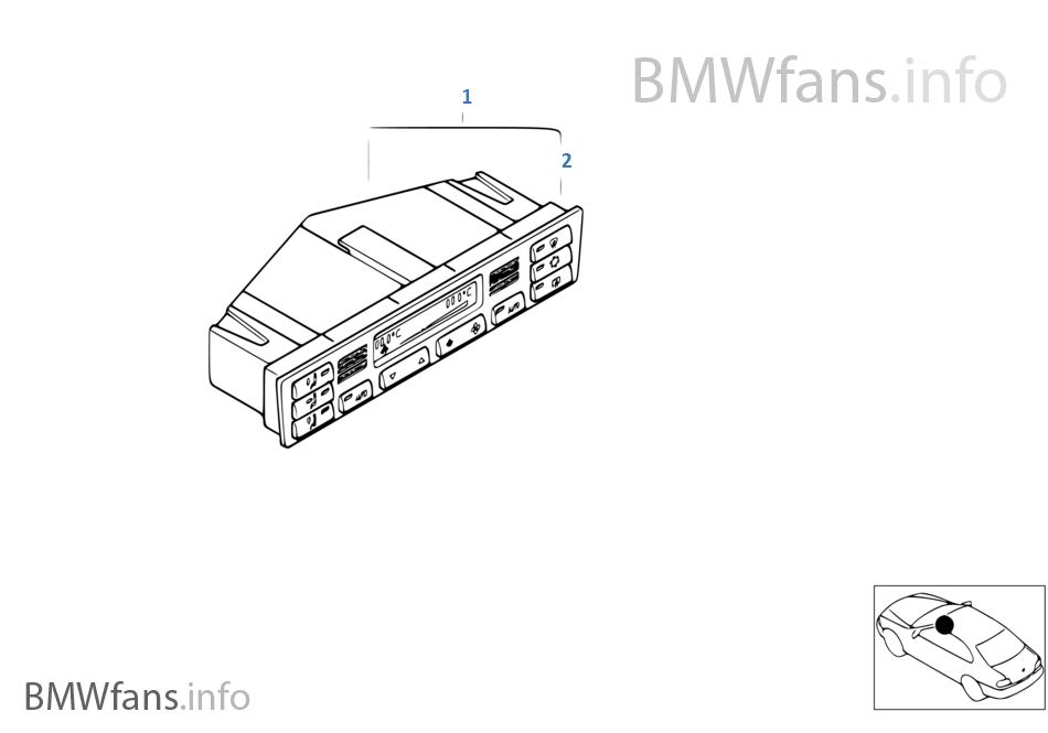 操作面板 自動空調
