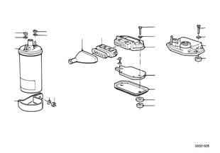 Stuurtoestel transistorontstekingsinstal