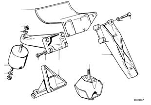 Подвеска двигателя/демпфер