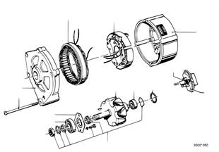 Elementy pojedyncze prądnicy