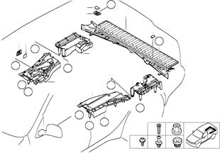 Основание пола багажного отделения