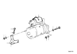 Arrancador d.piezas d.fortificacion