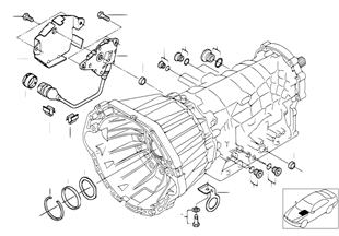 A5S440Z Πρόσθ. εξαρτήμ./στεγανοποιήσεις
