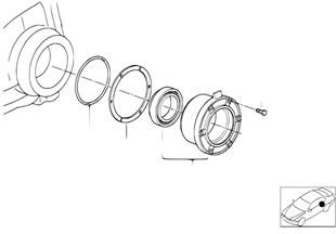 Hinterachsgetriebe-Distanzscheibe