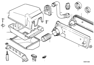 Relé motor/caixa p/ unidade comando