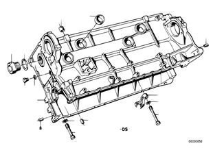 Zylinder-Kurbelgehäuse
