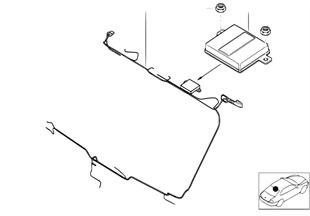 Münferit parçalar, BMW Dış anten