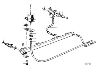 Sistema de injecção/válvulas/tubos