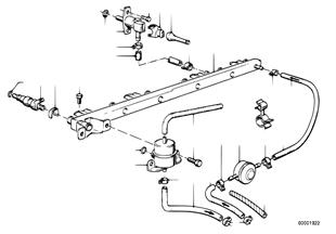 Клапаны/трубопроводы системы впрыска