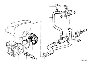 Volume air flow sensor