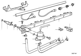 Einspritzanlage-Ventile/Leitungen