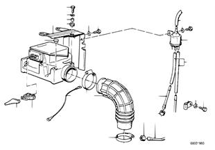 Contador volumétrico de aire