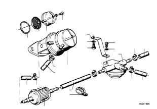 Zásobování palivem/čerpadlo/filtr