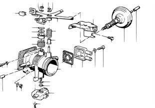 Tubo de la válvula de estrangulación