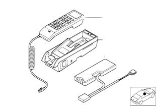 Münferit parçalar, SA 629 Orta konsol