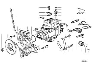 INJ ポンプ/マウント、ディーゼル車