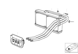 Radiador chaufagem AC c/microfiltro