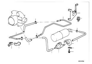 Deposito aireacion/valvula aire perturb.
